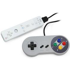Classic Super Famicom Controller For Wii USD$19.99