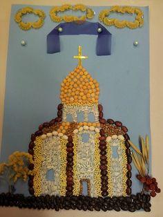 Поделки церкви храмы