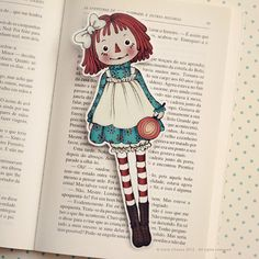 Raggedy Ann bookmark