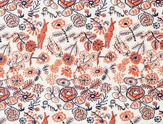 Nice folk-inspired pattern.