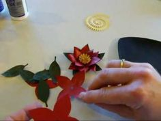 My Craft Spot-Flower Shoppe: Poinsettia