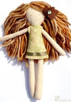Cute rag doll