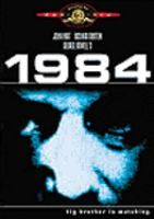Starring John Hurt and Richard Burton, based on the novel by George Orwell (1984)