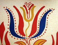 folk art tulip, pennsylvania dutch