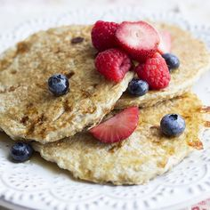 Vanilla Cinnamon Protein Pancakes | Skinny Mom | Where Moms Get the Skinny on Healthy Living