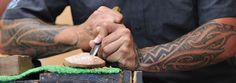 The National Carving School is at Te Puia in Rotorua. Visitors are welcome to watch carvers at work.