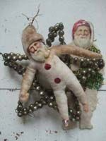 I love antique Christmas ornaments!!