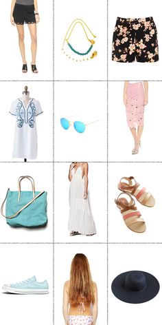 12 Summer Fashion Must Haves. Read More: