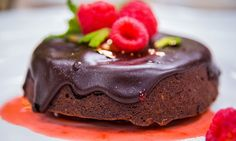 Home & Family - Recipes Mini Brownie Cakes with Chocolate Glaze | Home & Family