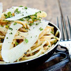 Spaghetti with Lemon & Parmesan