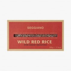 Riz rouge intégral