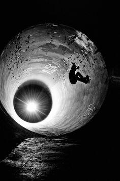 tunnel-wide angle skater# skateboard ' skate # sk8