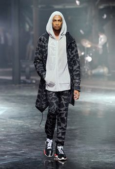 Adidas Y-3 Fashion Show NY SPRING 2014 (Photo by Jemal Countess/Getty Images for Y-3) cheap !!!!rayban glasses just need $24.99 !!!!!!!   http://001.raybans4you.com