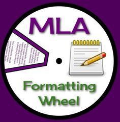 MLA Formatting Wheel: A Useful Tool For Essay Writing  from Presto Plans on TeachersNotebook.com -  (3 pages)  - This resource is an excellent review and editing tool for MLA essay formatting. Have each student print out and assemble the wheel, and they can have it as a guide when formatting their essays! You can also laminate and keep them in your class from year t