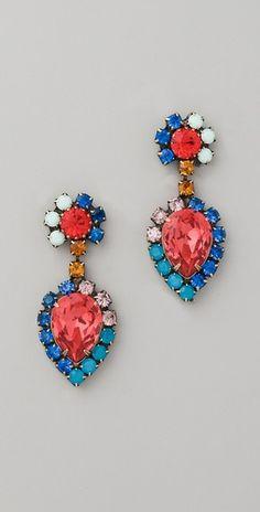 love love love these earrings