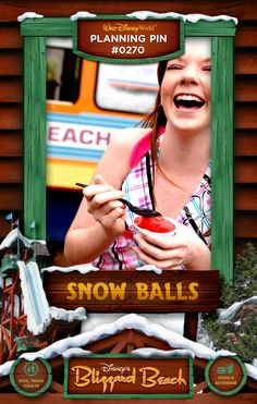 Walt Disney World Planning Pins: Snow Balls