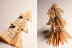 DIY Mini Christmas Tree Paper Ornaments