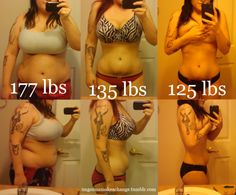 This girl is really inspirational. really puts into perspective what dedication does for weight loss.