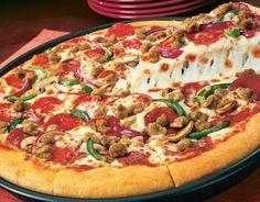 Receta de Pizza suprema