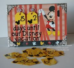 disney countdown calendar..weneed this but it also needs to say...this many days to drop 40-50 pouds!