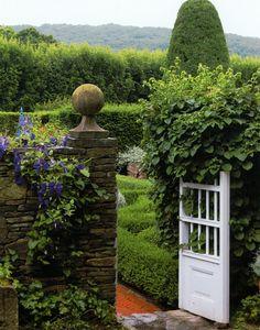 Nice garden gate.