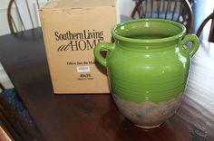 nib southern living 40639 green olive jar du marais nr more southern