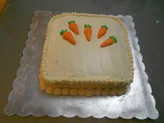 Pastel de zanahorias (con nuez y piña)