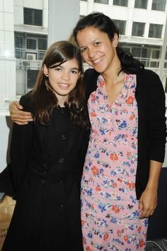 Singer Lisa Moorish and Liam Gallagher's daughter, Molly.