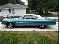 1972 Oldsmobile 98 Luxury Sedan