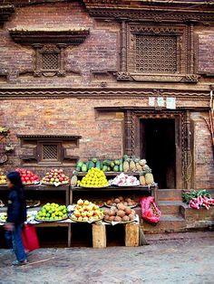 Market in Nepal