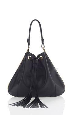 Small Tassle Hobo Bag by Marni for Preorder on Moda Operandi