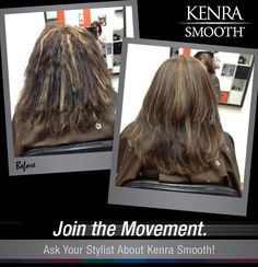Kenra Smooth work from a class.