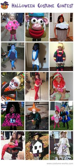 Homemade Costumes for Girls
