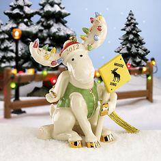 Merry Moose Crossing 2012 Annual Moose Ornament