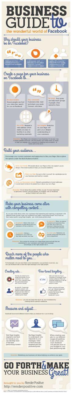 #Business Guide To #Facebook  #SocialMedia #infographic