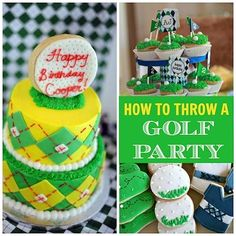 How to Throw a Golf Party #golf #party