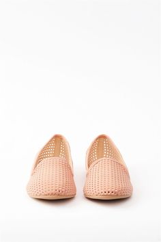 Cute punched flats $15