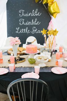 Twinkle birthday party!