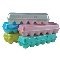 Contact your local egg sellers to donate your egg cartons. I know my local sellers love the donations! Upcycle/Repurpose/Recycle