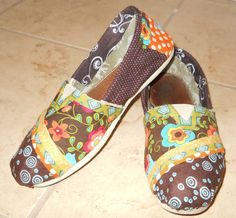 Customized Toms...people take your old Toms and renew them. Maybe something to do when mine get worn out! That, or figure out how to do it myself!
