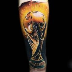 Found this World Cup tat on InkyBeer.com - nice!