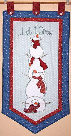 cute snowman wall hanging