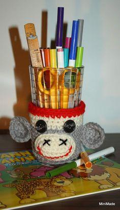 Sock Monkey Cup