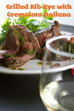 Grilled Rib-Eye with