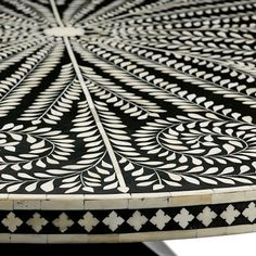 inlay table from Bernhardt