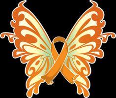 Leukemia butterfly...