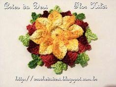 Passo a passo Flor Hildi - Artes da Desi -  By Desi Winters