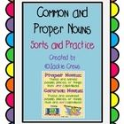 This file has four common/proper noun sorts, a common/proper noun identification coloring page with a color code, a short text for students to...