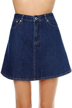 Skirting By Skirt | Shop Under The Boardwalk at Nasty Gal