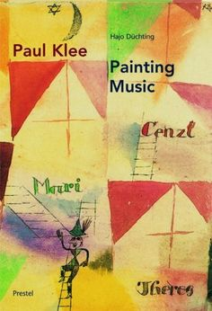 Paul Klee: Painting Music by Hajo Duchting.  Examines the relationship between music and painting in Paul Klee's art. A talented violinist as well as a painter, Klee drew much of the inspiration for his abstract art from musical rhythms and structures. Like a composer, he developed and harmonized pictorial themes, weaving a complex series of signs and symbols into his painting.